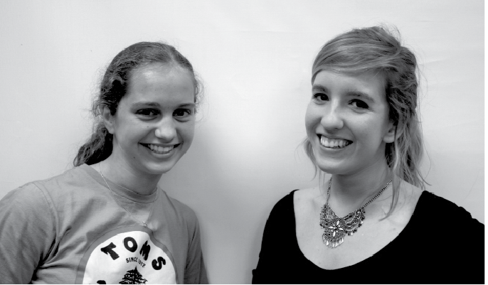 Cassie Wassink and Renata Stewart, co-executive editors